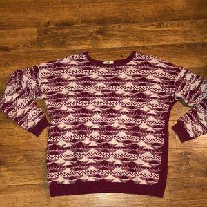 Cute Printed Sweater